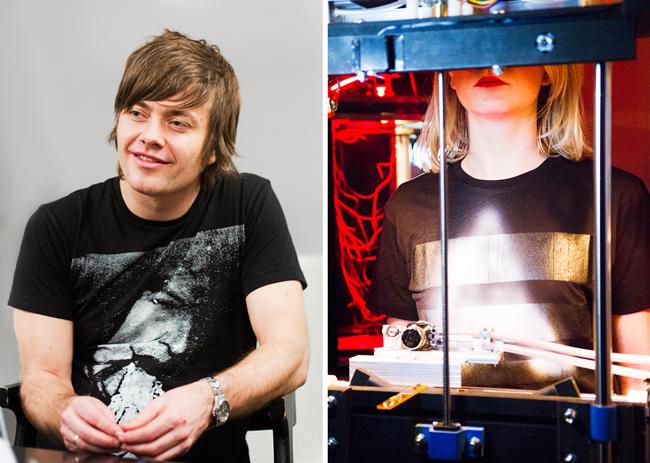 Kjetil Wold er kreativ leder i Anti Design og utvikler Anti Denim jeans.