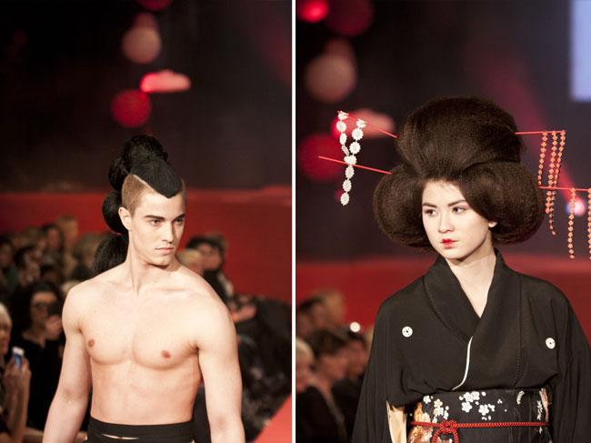 """""""Geishaens drøm"""" var åpningstemaet på visningen Mote med Mening."""