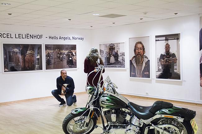Leliënhof har reist Norge rundt, og fotografert Hells Angels-medlemmer.
