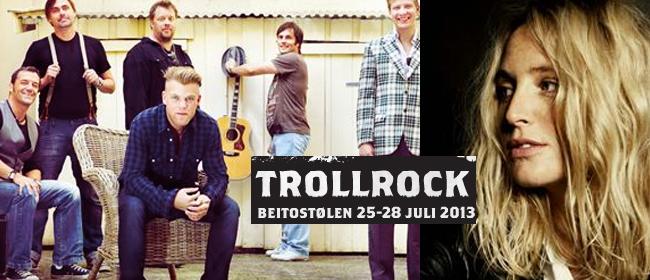 Den beste musikken kombineres med fantastisk natur på Trollrock, Beitostølen.